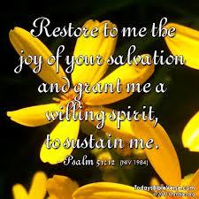 Restore joy