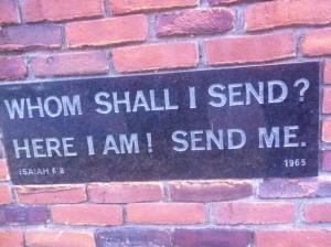 Whom shall I send-