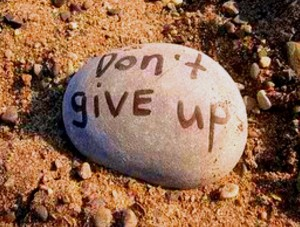 bible don't give up