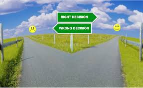fear of making the wrong decision