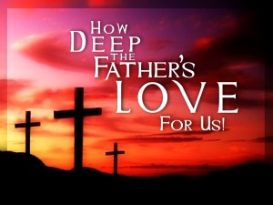 how deep is God's love
