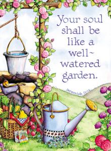 well watered garden
