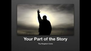 your part of the story