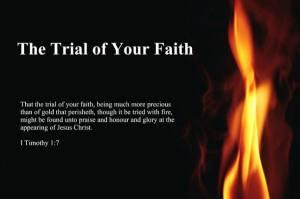 trial of your faith