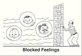 blocking emotions